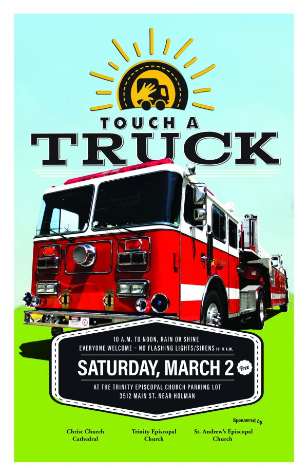 Touch-A-Truck is Saturday, March 2nd