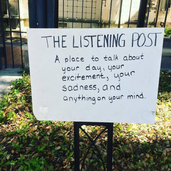 1st Anniversary of Listening Post at Trinity