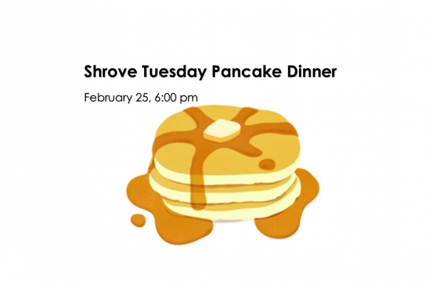 Shrove Tuesday Pancake Supper - February 25